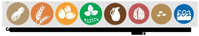 Alérgenos Tres Chocolates